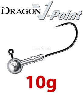 Dragon V-Point Speed Jig Head 10g (3 pcs) - hook sizes 1/0-6/0