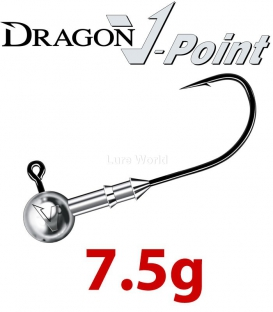 Dragon V-Point Speed Jig Head 7.5g (3 pcs) - hook sizes 1/0-6/0