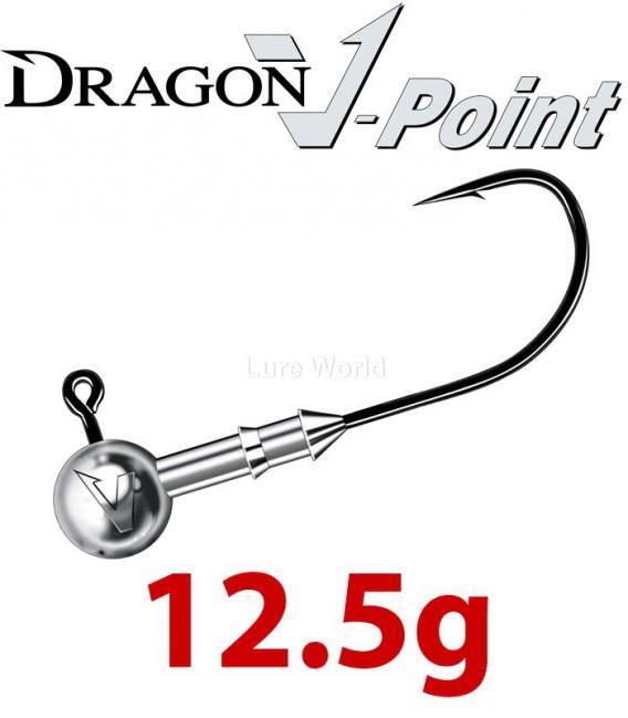 Dragon V-Point Speed Jig Head 12.5g (3 pcs) - hook sizes 1/0-6/0