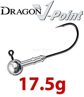Dragon V-Point Speed Jig Head 17.5g (3 pcs) - hook sizes 1/0-6/0