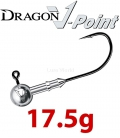 Dragon V-Point Speed Jig Head 17.5g (3 pcs) - hook sizes 1/0-6/0