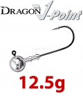 Dragon V-Point Classic Jig Head 12.5g (5 pcs) - hook sizes 1/0-6/0