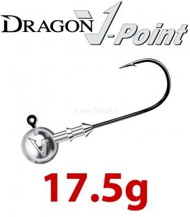 Dragon V-Point Classic Jig Head 17.5g (5 pcs) - hook sizes 1/0-6/0