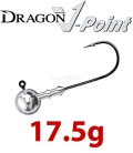 Dragon V-Point Classic Jig Head 17.5g (5 pcs) - hook sizes 1/0-6/0