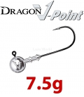 Dragon V-Point Eagle Jig Head 7.5g (5 pcs) - hook sizes 1/0-6/0