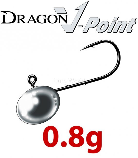 Dragon V-Point Micro X-Fine Jig Heads 0.8g Saver Pack (20 pcs)