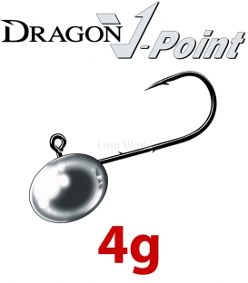 Dragon V-Point Micro X-Fine Jig Heads 4g Saver Pack (20 pcs)