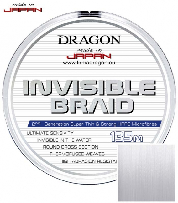 Dragon/Toray Invisible Braid Line for Lure Fishing