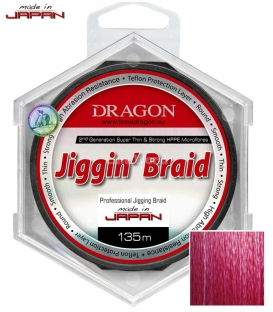 Dragon/Toray Jiggin' Braid for Lure Fishing