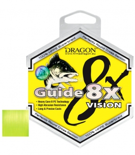 Dragon/Toray Guide 8X Vision Yellow Lure Braid