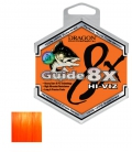 Dragon/Toray Guide 8X Vision Orange Lure Braid