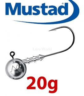 Mustad Classic Jig Head 20g (3 pcs) - hook sizes 1-6/0