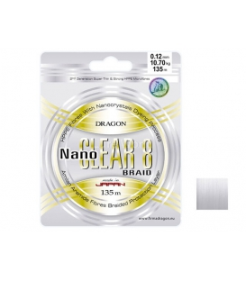 Dragon Nano Clear 8 Lure Fishing Braid Line