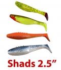 Shads 2.5''