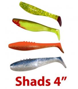 Shads 4''