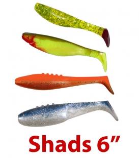 Shads 6''