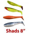 Shads 8''